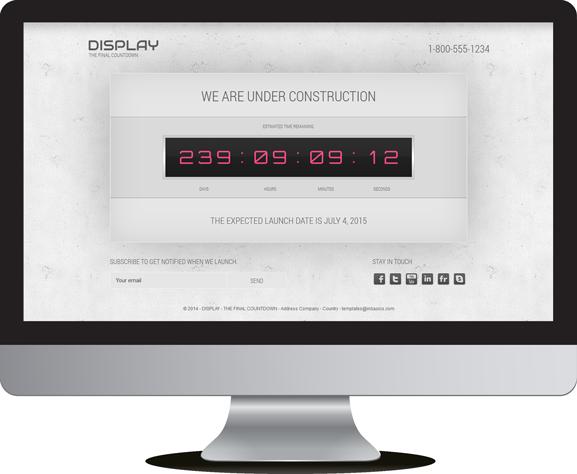 Display, the final countdown v 1.7